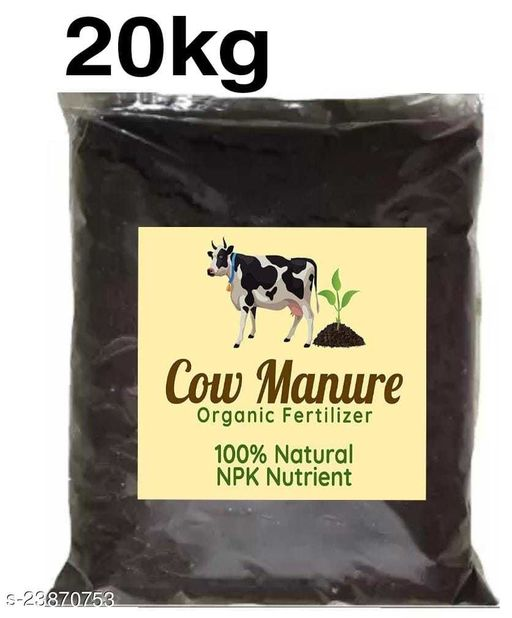 100% Organic Cow Dung compost for plant growth