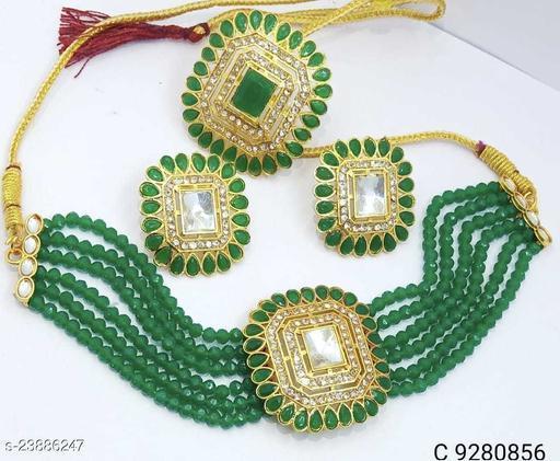 chocolet jewellery set
