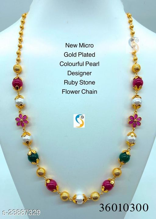 New Micro Gold Plated Necklace