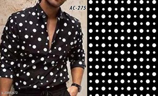Men's Digital printed shirt fabric (unstitched)