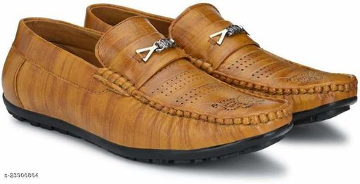 Rust Modern Attractive Men Casual Shoes