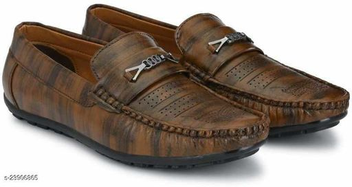 Brown Modern Attractive Men Casual Shoes