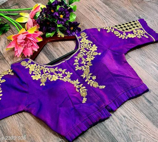 Beautiful stiched blouse