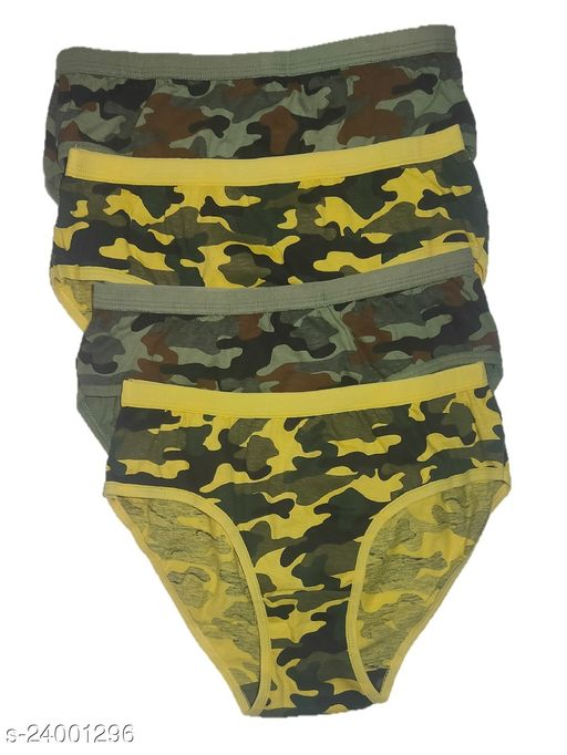 Women Hipster Yellow Hosiery Panty (Pack of 4)