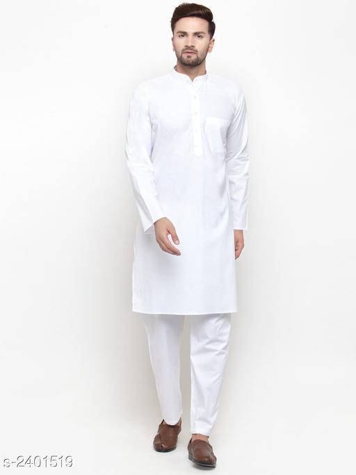 Versatile Men's Kurta Pyjama Set