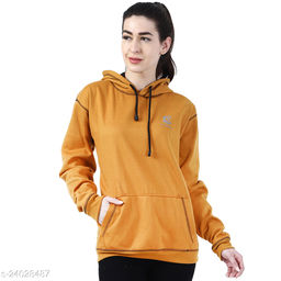 Chanda Khuba Women's Sweatshirt Full Sleeve Kangaroo Pocket Pullover hoodies - CKHD-G-03