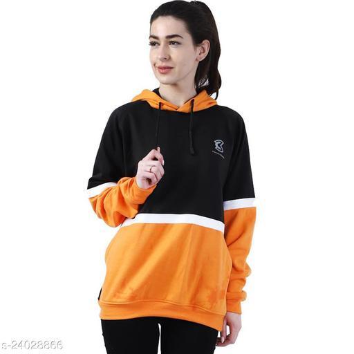 Chanda Khuba Women's Sweatshirt Full Sleeve Kangaroo Pocket Pullover hoodies - CKHD-G-06
