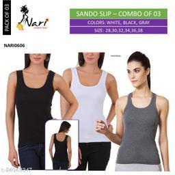 0606 Sando Slip Color - Pack of 03