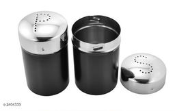 Vinayak International Stainless Steel Salt & Pepper Copper Coloured 200 ml Set of 2 Pcs