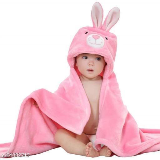 Anaya Creation Super Soft Cotton Baby Towel Cum Baby Blanket Cum Baby Cloak
