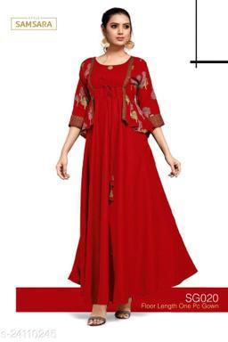 Stylish Women's partywear Gown