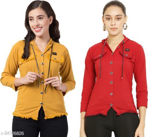 Fancy Partywear Women Shirts
