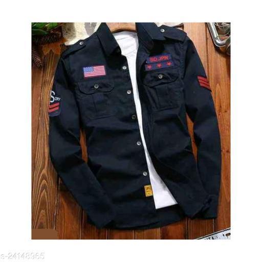 Stylish Cargo Double Pocket Shirts For Men