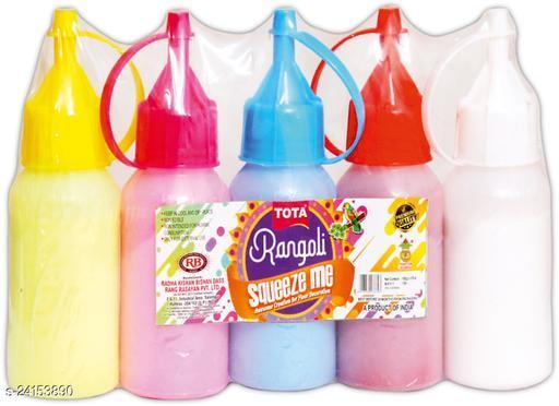 Attractive Rangoli Colours & Stencils