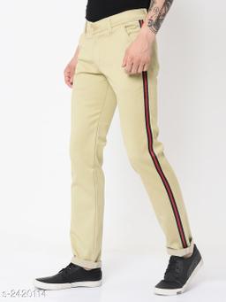 Men's Trendy Cotton Lycra Men's Trouser