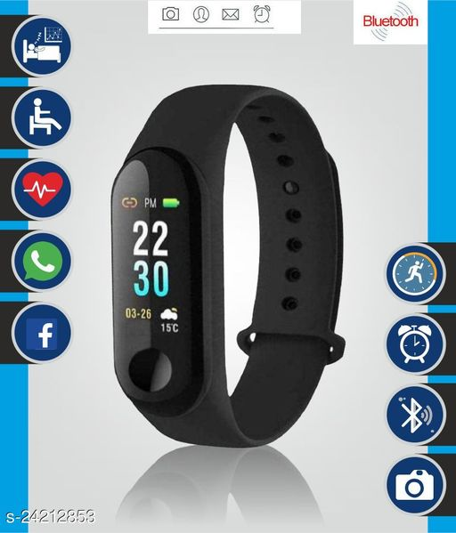 M3 Smart Fitness Band with Activity Tracker