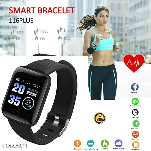 ID116 Bluetooth  Smart Fitness Watch for Men