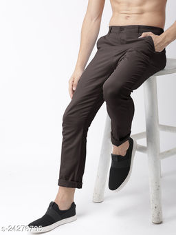 FREAKS coffee casual pant for men