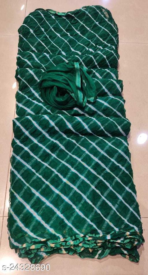 Lahariya Semi Chiffon with beautiful colors