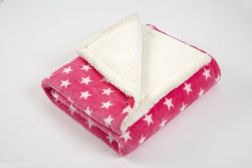 Naman Flanno Sherpa Blanket For Baby's