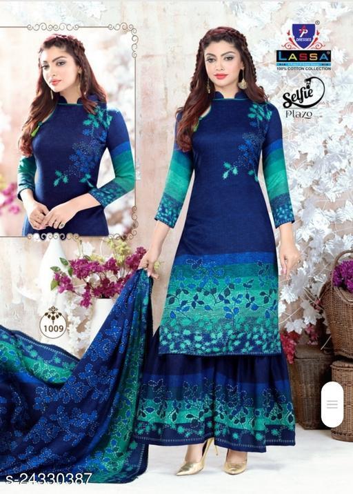 Adrika Voguish Semi-Stitched Suits
