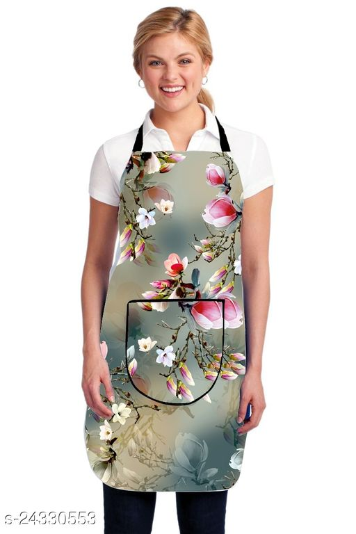 BTC Home Apron Kitchen Waterproof For Womens (20x30, Free Size)