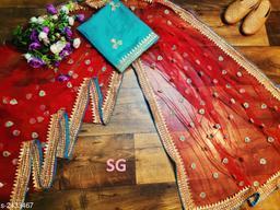 Alluring Heavy Net Women's Saree