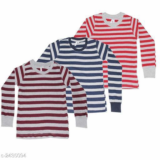 Stunning Kid's Boy's Cotton T-Shirt (Pack Of 3)
