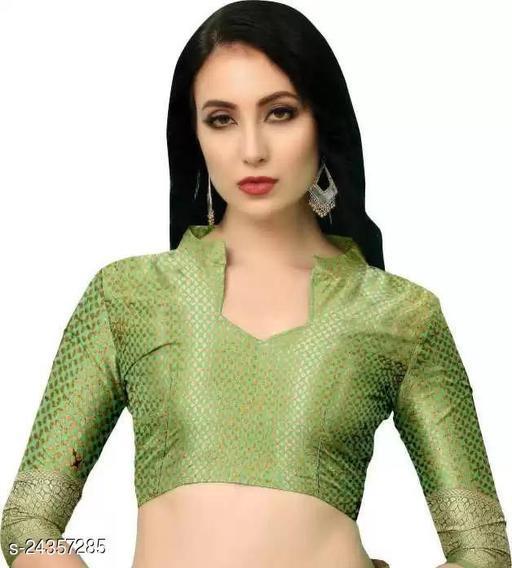 2010 Light Green Blouse Original