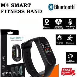 M4  Smart Fitness Band Heart Rate Monitor Bluetooth Smartband