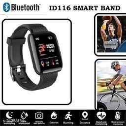 ID116 Smart Fitness Band Heart Rate Monitor Bluetooth Smartband