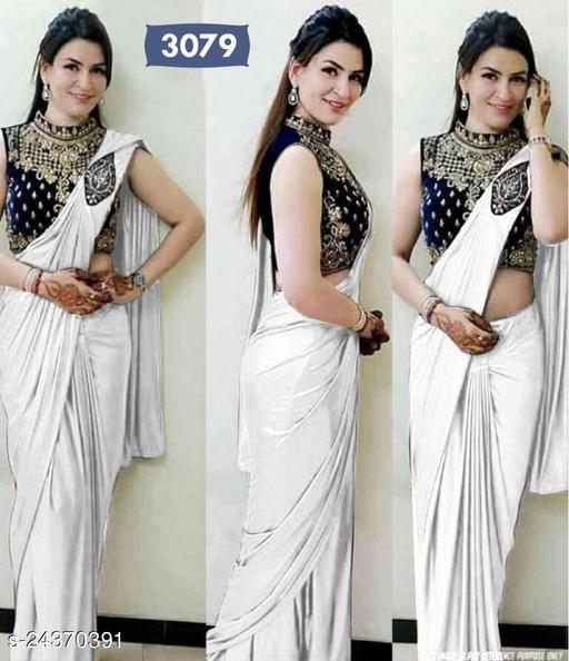 Trendy Satin Sarees