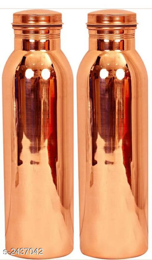 Pure copper bottle stylish modern bottle