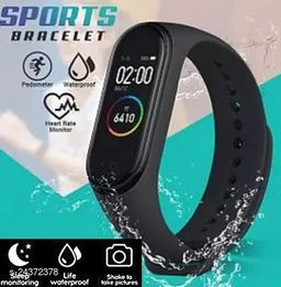 M4 Smart Band Heart Rate Moniter Fitness Band For Unisex