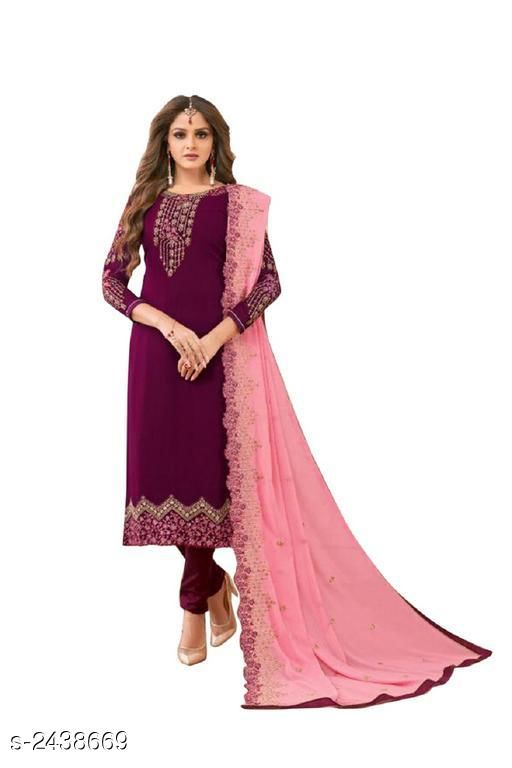 Alluring Faux Georgette Suits & Dress Material