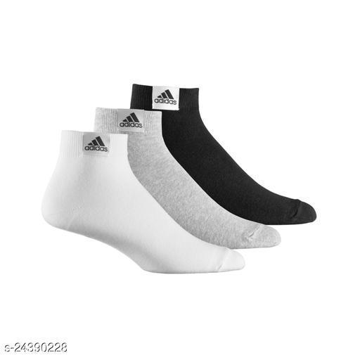 Stylish Men's Pack of 3 Black Socks