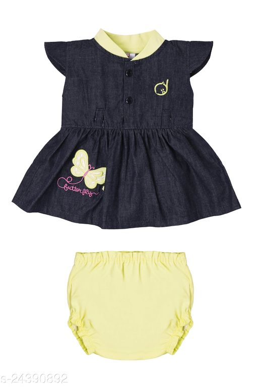 Dolly Dolly Jeans Frock & Panties