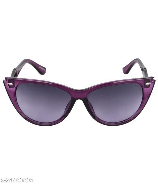 Laurels Nina Series Purple Cateye Women Sunglass