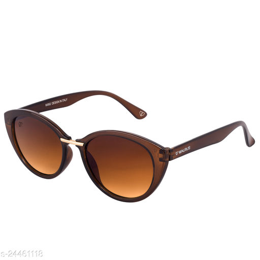 Walrus Grace Series Brown Cateye Women Sunglass