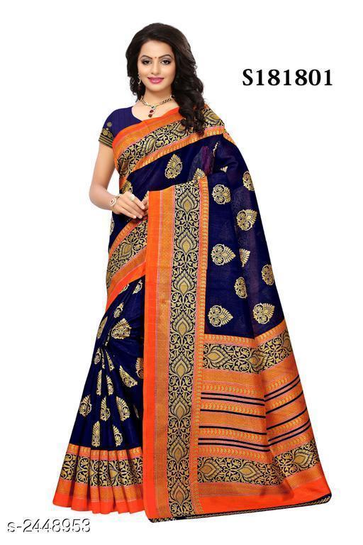 Designer Mysore Silk Printed Women's Saree