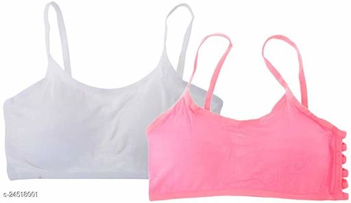 Women Padded Everyday Bra(Colour And Design Will Not Same As Photo Always All The Time)