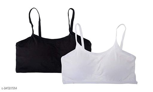 Women Padded Everyday Bra(Size:-28 to 36)(Sometimes Color And Design Not Same As Photo)