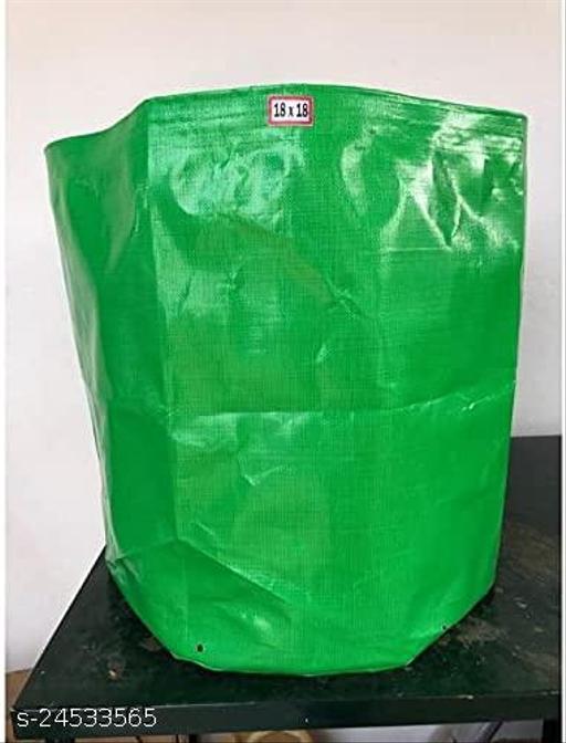 """Outdoor Terrace Gardening Grow Bag 18"""" X 18"""" inches (Set of 2)Modern Indoor Plants"""