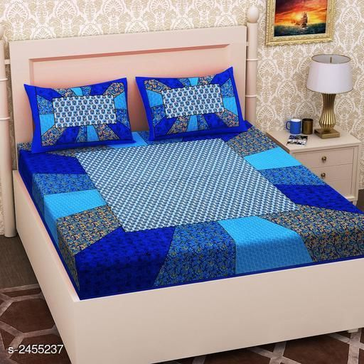 Collective Cotton Printed Double Bedsheet