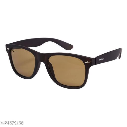 Walrus Urban Series Brown Wayfarer Men Sunglass