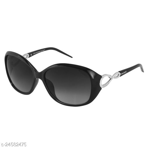Walrus Gaga IV Series Black Oversize Women Sunglass