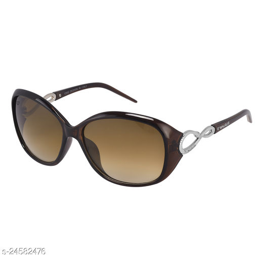 Walrus Gaga IV Series Brown Oversize Women Sunglass
