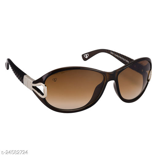 Walrus Gaga II Series Brown Oversize Women Sunglass
