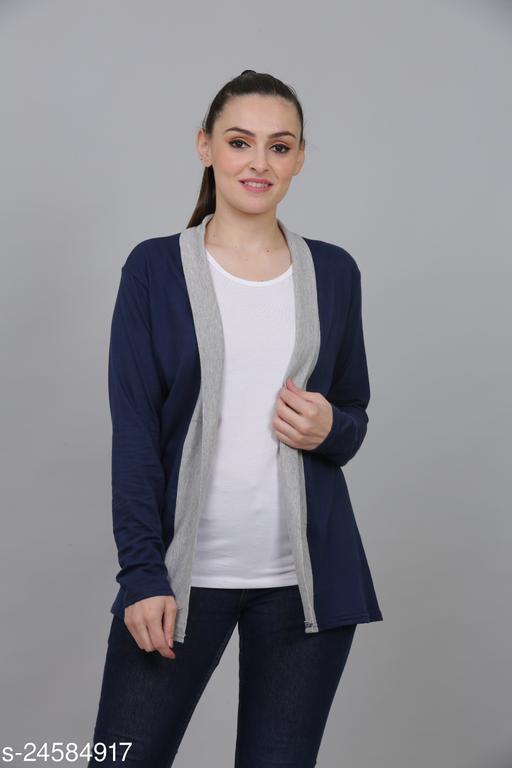 Women's shrug (Navy Blue)