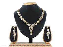 Women's American Diamond Jewellery Set